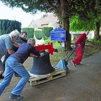 Restored bells allow silent bell ringing practice