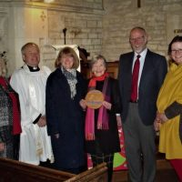 Bronze Eco Church Award for St Peter's Stratton
