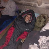 Cloister Challenge Sleep-out at Gloucester Cathedral