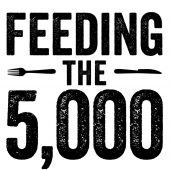 Help us feed the 5,000: click here