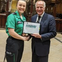 Clap for St John's Ambulance volunteers