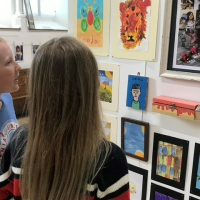 Art angels create hope in Redbrook
