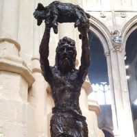 Lost Cirencester statues recreated with a modern twist