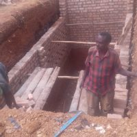 Sponsored toilet block supports Tanzanian school children