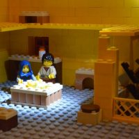 Nativity story retold in LEGO (R)