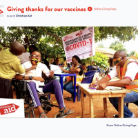 Christian Aid vaccination centre