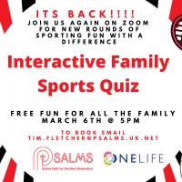 Interactive Sports Quiz