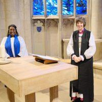 Bishop Rachel and Alexandra Dyer