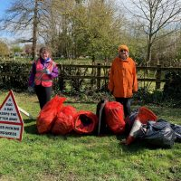 Litter picking teen raises £2,000