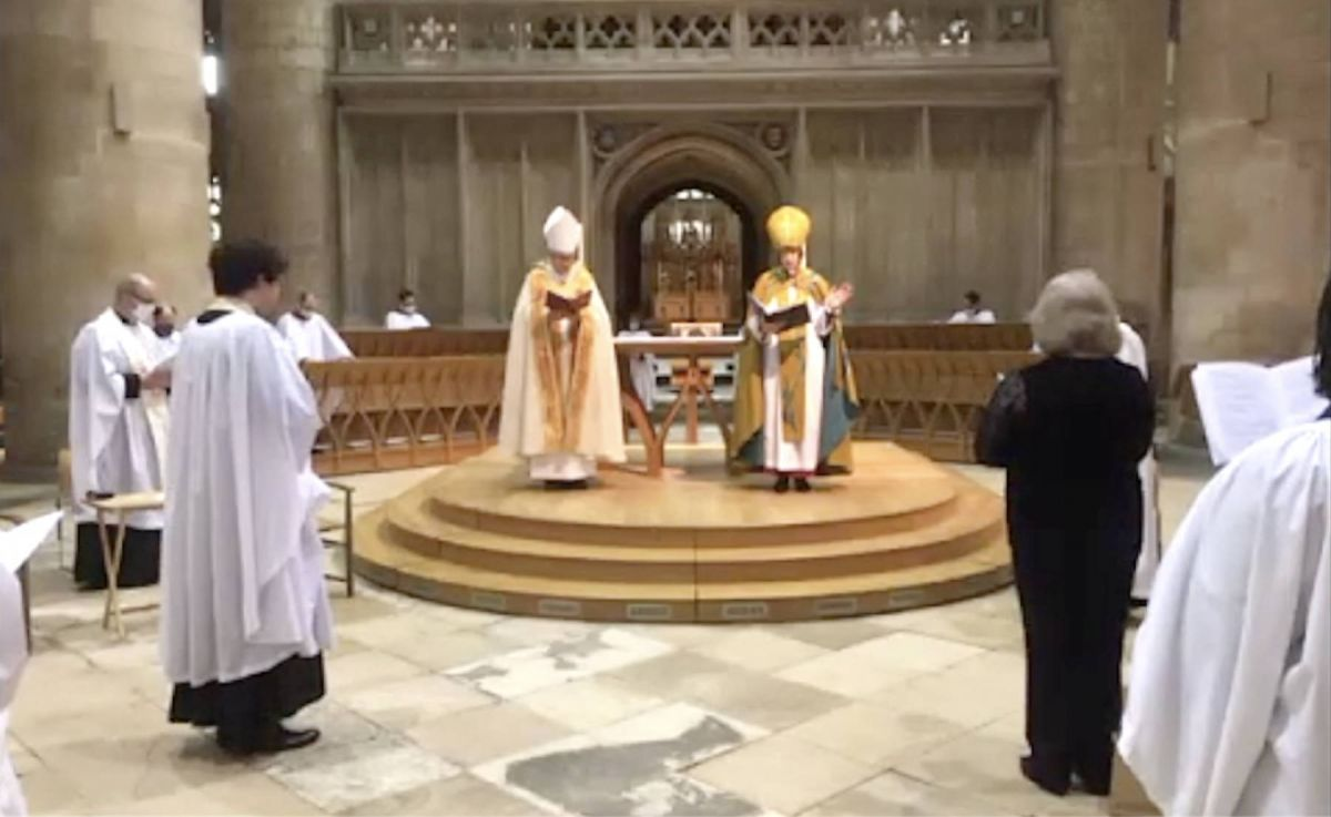 Maundy Thursday: watch the Chrism service from Gloucester Cathedral