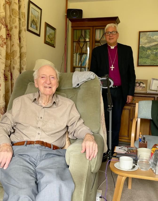 Bishop Robert and Ray