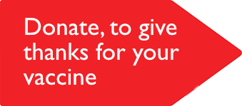 Donate to Christian Aid to give thanks for your vaccine