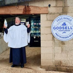 A blessing for bypassing plastic bottles