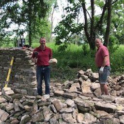 Drystone walls returning to former glory