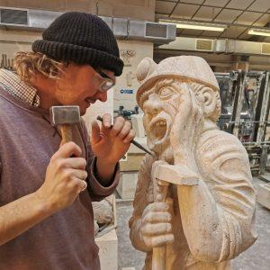 Learn historic masonry skillls at Redbrook
