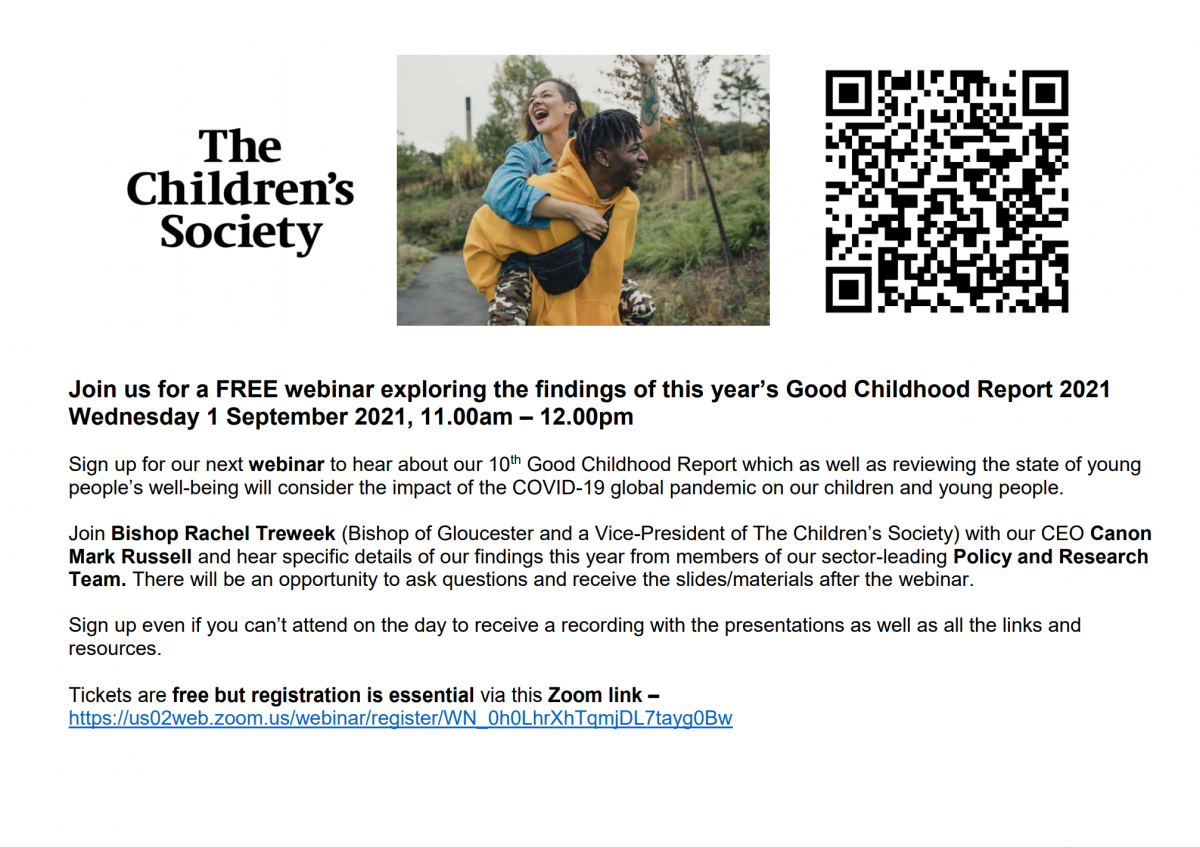 The Children's Society's Good Childhood Report launch event