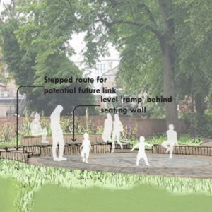 'Gloomy' churchyard set to become bright and welcoming space