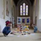 Running an art exhibition at your church: Case study – St Mary's Church, Bibury