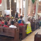 School and church come together to celebrate St Matthew's Day